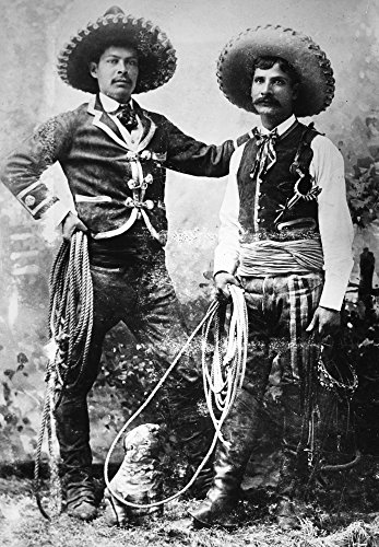 The Poster Corp Cowboys C1900. /Nmexican Cowboys In One of Buffalo Bill's Wild West Shows C1900. Kunstdruck (60,96 x 91,44 cm) (Bills Buffalo Wild West)
