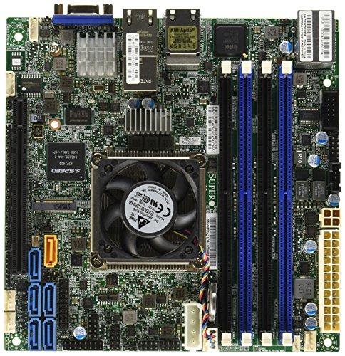 Supermicro X10SDV-TLN4F server/workstation motherboard BGA 1667 Mini-ITX