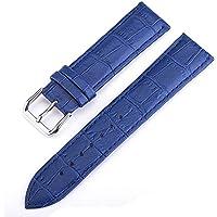 Cinturino multicolore 10-24mm Fibbia Cinturino in pelle di donne rivestono di pelle cinturino del metallo universale…