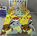 Pokemon Go Catch Single Rotary Duvet Cover Set Inc. Pillowcase - cheap UK light shop.