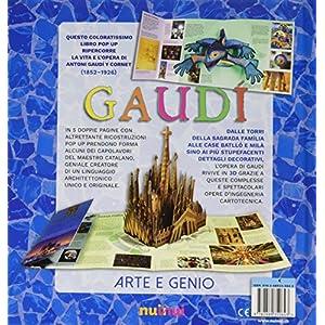 Gaudí. Arte e genio. Libro pop-up