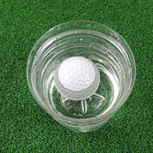 Flottant de balle de golf Balles de golf Blanc Lot de 6
