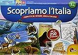 Scopriamo l' Italia. Tante attività per conoscere il tuo paese! Con poster e adesivi
