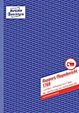 Avery Zweckform 1769 Rapport/Regiebericht (A4, selbstdurchschreibend, 2x40 Blatt) weiß/gelb -