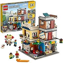 LEGO Creator - Tienda de Mascotas y Cafetería Nuevo set de construcción de Edificios de Juguete (31097)