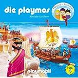 Die Playmos - Folge 5: Gefahr für Rom. Hörspiel.