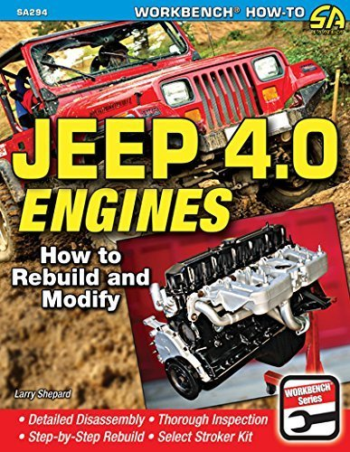 Jeep 4.0 Engines: How to Rebuild and Modify (Sa Design) by Larry Shepard (2014-09-19)