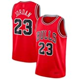 Zhao Xuan Trade Maglia da Uomo Jersey Bulls Vintage NBA Champion Michael Jordan Maglia Chicago Bulls # 23 Maglia da Basket Sw