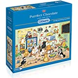 Gibsons Purrfect Chocolate Jigsaw Puzzle (1000 Pieces)