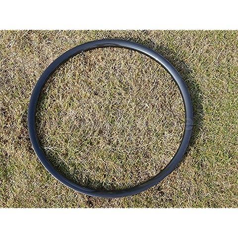 Toray carbono llantas Full Carbon Ud brillante bicicleta de montaña 29er Clincher Wheel Rim Disco de freno MTB Bicicleta Llantas agujeros: 20,
