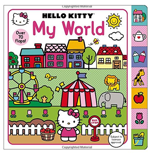 Hello Kitty My World por Priddy Books