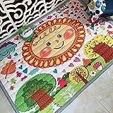YACAOS Bright Baby Game Pad Für Kinder 2 cm Dicke rutschfeste Matte Abnehmbarer Waschbarer Teppich Set Kinder 140X195cm28