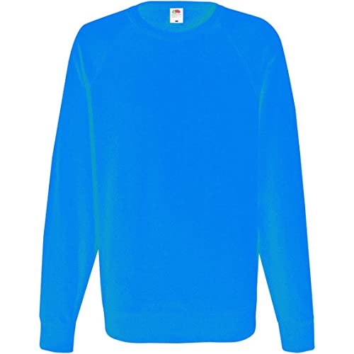 Fruit of the Loom Raglan Sweatshirt, Felpa Uomo