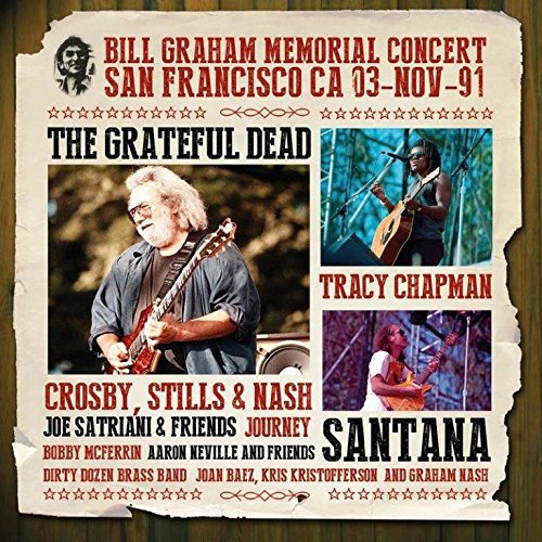 Bill Graham Memorial Concert Memorial Music Box