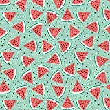 Studio E Wassermelon-Stoff - Wassermelonengrün/rot -