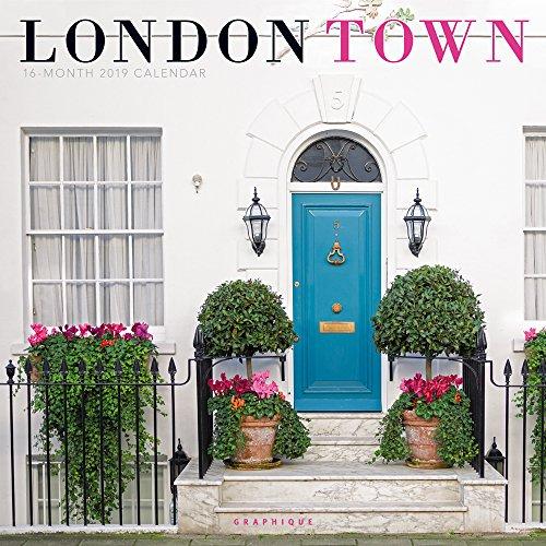 London Town – Londons Innenstadt 2019 - 16-Monatskalender (Wall-Kalender)
