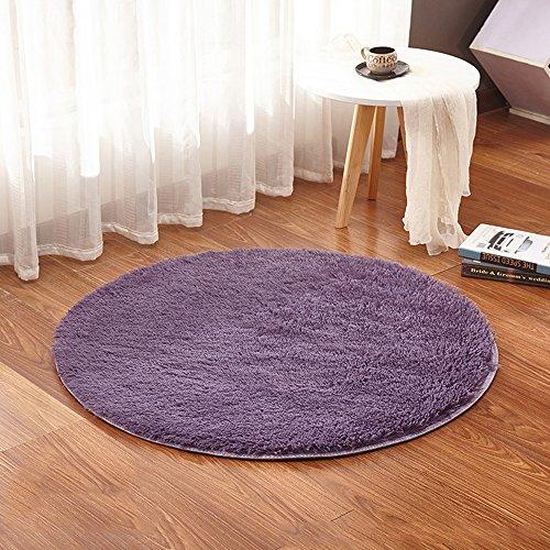 lulalula Alfombra Circular para salón o Dormitorio con diseño (círc