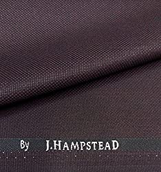 J.Hampstead Classic Cool Hight Twist Maroon Suit Length (3 metres)