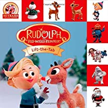 Rudolph the Red-Nosed Reindeer Lift-The-Tab (Lift-The-Flap Tab Books)
