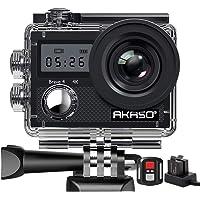 AKASO Caméra Sport Etanche 4K WiFi 20MP Action Cam Sportive Stabilisateur Ultra HD Écran LCD Grand Angle 170 Degrés EIS…