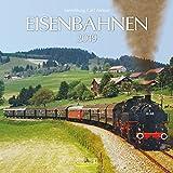 Eisenbahnen 2019: Broschürenkalender mit Ferienterminen. Format: 30 x 30 cm