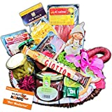 Geschenkkorb mit Feinschmecker- und deftigen Spezialitäten gefüllt von Wurst-König®