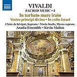 Vivaldi:Sacred Edition 4 [Claire de Sévigné; Maria Soulis; Aradia Ensemble, Kevin Mallon] [NAXOS: 8573324]