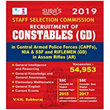 SSC Constables General Duty (GD) English Exam Books