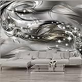 murando – Papier peint intissé 400x280 – Trompe l oeil – Tableaux muraux déco XXL – abstraction Diamant a-A-0168-a-d