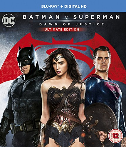 Batman v Superman: Dawn of Justice (Ultimate Edition) [Blu-ray] [2016] UK-Import, Sprache-Englisch