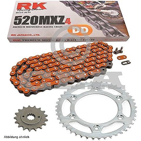 Catena pignone Polaris Trail Blazer 25002–03, catena RK DD 520MXZ476, aperta, arancione 11/36 - 76 Blazer