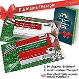 Geschenk-Set: Die Kleine Therapie für FCA-Fans | 2X Süße Schmerzmittel für FC Augsburg Fans | Die Besten Fanartikel der Liga, Besser als Tasse, Kaffeepott, Becher & Fahne