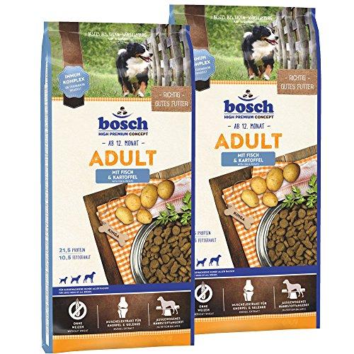 bosch Adult Fisch & Kartoffel 30kg (2 x 15kg) | Trockenfutter