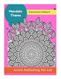 Mandala Thema: Erwachsenes Malbuch