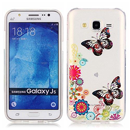 Vandot Etui Coque Housse Case pour Samsung Galaxy Core Prime G360F Bling Transparent TPU Bumper Fashion Créatif Souple Matte Cover - Avaler Motif-10