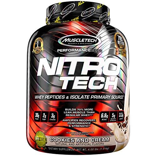 Muscletech Performance Series Nitro-Tech Cookies & Cream - 1800 gr