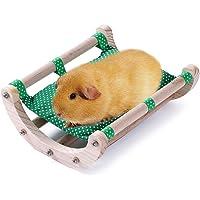 JanYoo Bett / Matte für Meerschweinchen, Igel oder Kaninchen, Spielzeug, Käfigzubehör, Stuhl, Hängematte, abnehmbar…