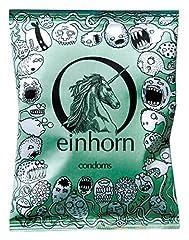Idea Regalo - No Label Einhorn sperma Monster maschio Preservativi, Confezione da 7