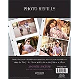 Pinnacle Magnetic Refill Sheets For 5 By 7-inch Photos, 10 Sheets