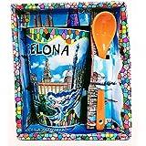MI RINCON Taza DE Cafe Grande con Motivo DE Gaudi - Barcelona