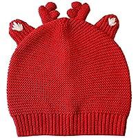 VEA-DE Weihnachtselch Baumwolle Gestrickter Warmer Hut