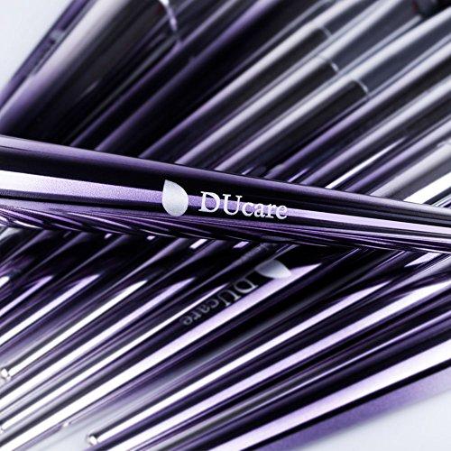 DUcare Makeup Brushes Set 17Pcs Fantasy Purple Ombré Make Up Set Foundation Concealer Cosmetic Eyeshadow Brush Kit Cosmetic Eyeshadow Brush Kit