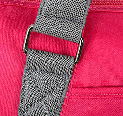 La Signora Femminile Sacchetto Di Nylon Moda Di Oxford Borse Di Stoffa Tela Big Bag Borsa A Tracolla Mobile Messenger Blue1