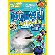 Ocean Animals Sticker Activity Book: Over 1,000 Stickers!