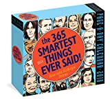 365 Smartest Things Ever Said! Page-A-Day Calendar 2018