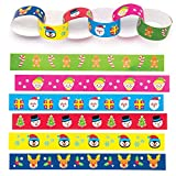 Baker Ross Festive Paper Chains (Pack Of 240) For Kids Christmas Crafts And Decorations