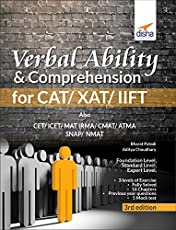 Verbal Ability & Comprehension for CAT/XAT/IIFT with 5 Mock Tests