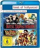 Hotel Transsilvanien/Die Piraten - Ein Haufen merkwürdiger Typen - Best of Hollywood/2 Movie Collector's Pack [Blu-ray]