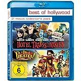 Hotel Transsilvanien / Die Piraten - Ein Haufen merkwürdiger Typen [Blu-ray]