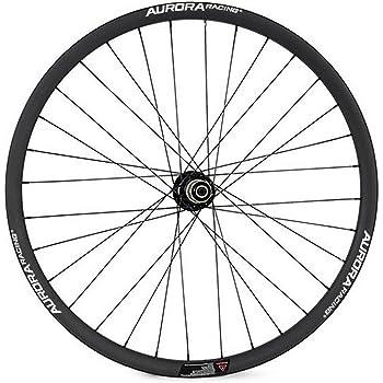 Aurora Racing 29er de fibra de carbono MTB bicicleta ruedas Clincher Compatible Tubeless asimétrico 28 mm